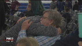 Families of shooting victims remember loved ones at Sebring vigil