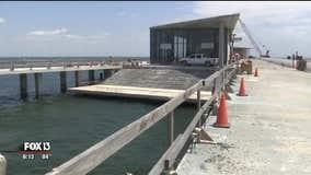Construction progresses on new St. Pete Pier
