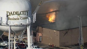 Magnesium continues to fuel industrial fire in Dade City