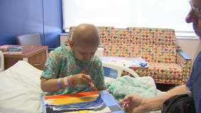 Christmas in July benefits young patients