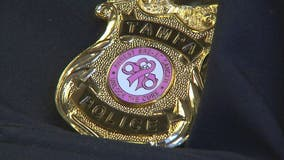 TPD Chief Ward turns precinct pink to fight breast cancer