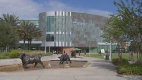 USF's green and gold colors will shine at Tampa Bay landmarks to honor graduates