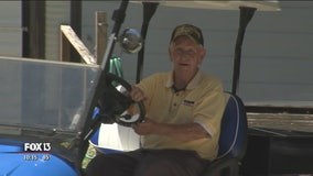 Man with disability gifted custom golf cart after his was stolen