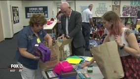 Stuff the Bus drives benefit students and teachers