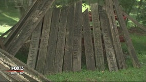Making room for the new, Temple Terrace gives away engraved boardwalk planks