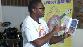Teen author inspiring kids to become avid readers