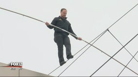 Nik Wallenda hosting final weekend of drive-in daredevil show