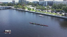 Drone Zone: Tampa rowing camp