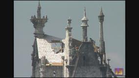 From 1990: 'Edward Scissorhands' castle