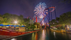 Busch Gardens will have four nights of fireworks to celebrate the Fourth of July