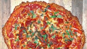 Recipe: Cauliflower crust margherita pizza