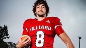 Florida high school quarterback suffers brain bleeding after touchdown