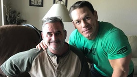 Hillsborough County employee with brain cancer meets John Cena
