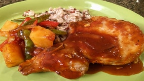 Good Day Gourmet: Sweet and Spicy Pineapple Pork Chops