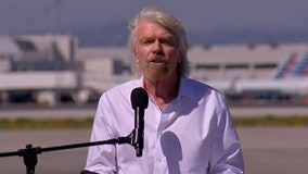 Richard Branson inspired by Apollo, will have his own space shot soon
