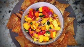 Good Day Gourmet: Peach-mango salsa with seasoned tortilla chips