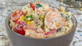 Recipe: Elote pasta salad