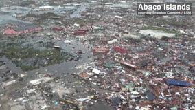 """Really bad scene"": Witnesses describe destruction, death in Bahamas"