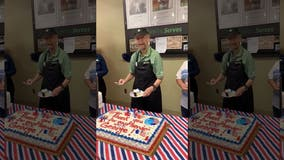 Veteran, 87, honored at his Publix job for Armed Forces Day
