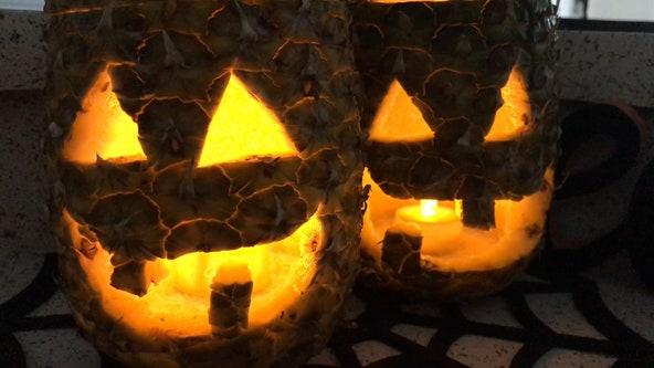 Pineapple-o-lantern: A Florida twist to a Halloween tradition