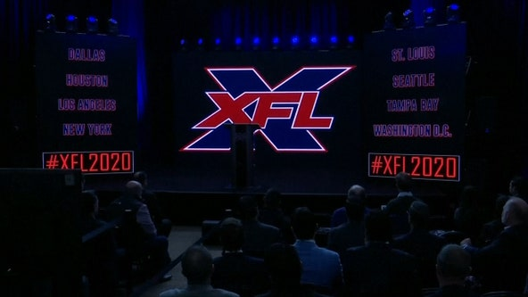 XFL releases schedule for 2020 debut season