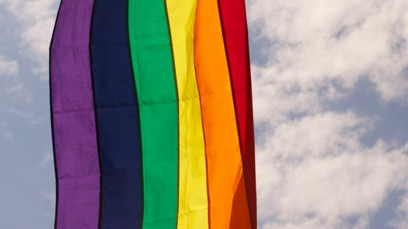 'We were in shock': Florida couple fined for displaying small gay pride flag