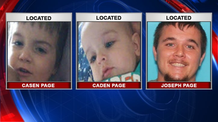 Florida kids abducted by dad who is wanted on a child abuse charge have been located