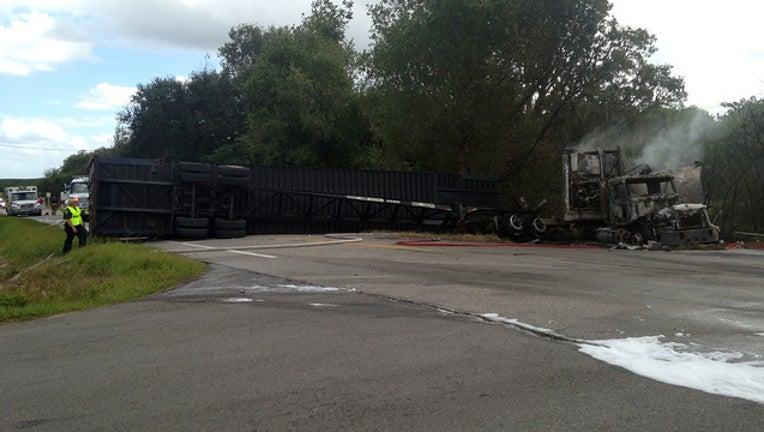 59f0846d-Lake Hamilton truck crash