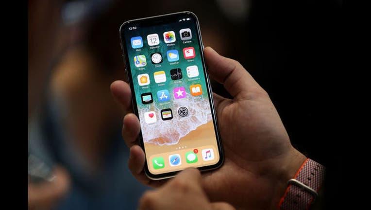 iPhone X - GETTY-407068-407068