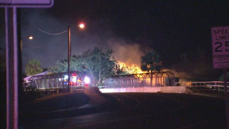 Apollo Beach house fire injures two people