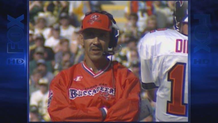 Tony Dungy as Bucs coach