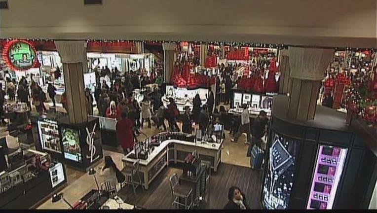 Holiday shopping mall-401720