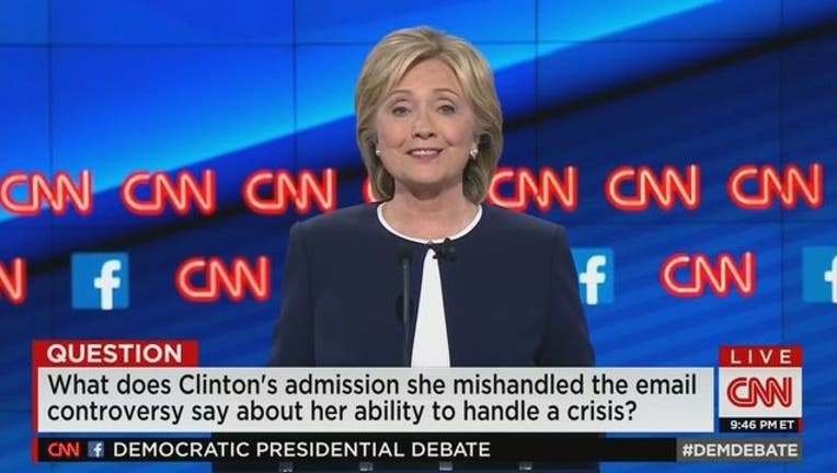 18d35ef9-HIllary Rodham Clinton addresses email controversy