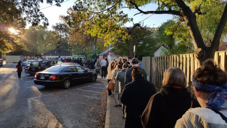37a5492a-Voting lines in Fairfax, Virginia (viewer photo)-401720