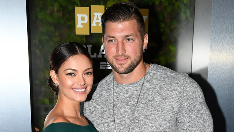 a55bda53-tim tebow demi-leigh nel-peters engaged getty