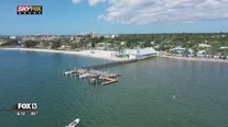 Artsy, charming Gulfport, seen from above