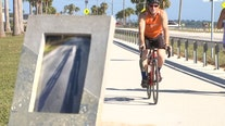 Tampa man biked 3,450 miles cross-country in memory of late wife who died from Crohn's disease