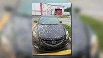 Splashed concrete blamed for damage to car