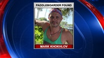 Officials find missing Citrus County paddleboarder