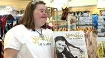 Local fashion designer with Down syndrome creates custom jewelry