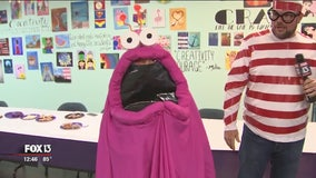 Create last-minute Halloween costumes using household items