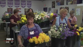Random Acts of Flowers bring smiles to patients