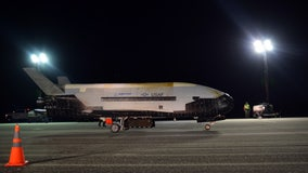 Air Force's mini-shuttle returns to Florida after two years in orbit