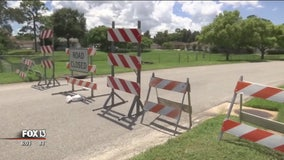 Frustrated residents search for answers after dozens of depressions open up