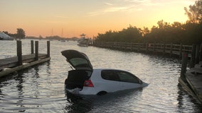 Venice driver, trapped for hours in partially-submerged vehicle, rescued by kayaker and paddleboarder