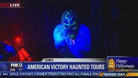 Aboard the -- haunted -- SS American Victory