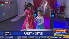Big reveal: Party N Style kids get to celebrate