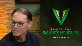 Vipers head coach talks about inaugural XFL draft