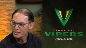 Vipers head coach talks about inaugural XFL draft