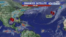 Tropical Storm Olga forms; will soak northern Gulf Coast